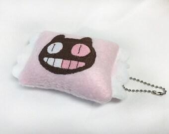 "Mini ""Cookie Cat Wrapper"" Plush Keychain"