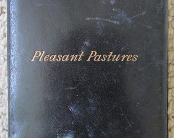 Pleasant Pastures Birthday Scripture  and Text Book 1900