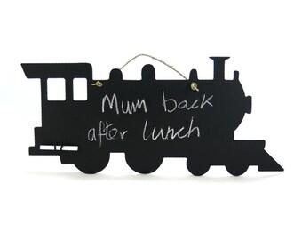 Steam Train Chalkboard