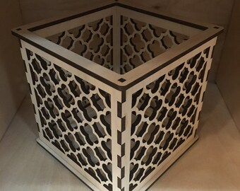 Moroccan Pattern 2 - Pillar Candle Holder