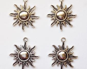 8 sun charms sunburst - SCS123