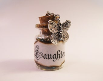 Laughter Bottle Necklace