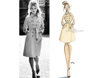 Custom Fashion illustration, Custom illustration, Custom Portrait illustration, Custom Portrait from Photo, Custom Illustration Portrait