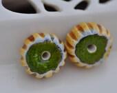 art ceramic components earrings jewelry handcrafted ceramic shiny gypsy ceramic best gift zolanna bohemian jewelry earrings