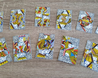 """3x2"""" Tarot Card Deck Major Arcana: 11 Cards w 22 Suits based on Orientation. Truly One-of-a-kind"""