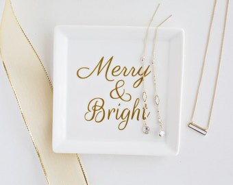 Merry and Bright Jewelry Tray