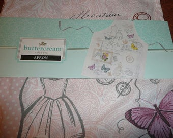 Buttercream Cosette Apron Full Length