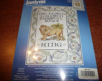 Janlynn Counted Cross Stitch Kit- The King