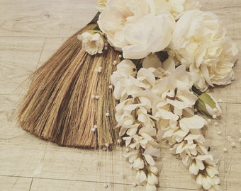 Wedding Broom - Jumping Broom - African American Wedding Broom