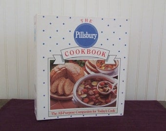 The Pillsbury Cookbook, Vintage Cookbook, 1989