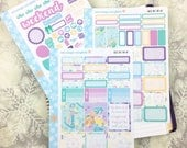 Wild Salt Air Kit! 3 Page Punched Kit, for your Erin Condren Life Planner, Plum Planner,  Filoflax, calendar