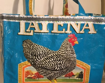 Turquoise Chicken Bag