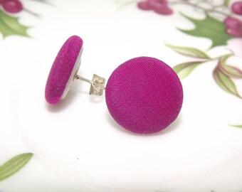 Orecchini a lobo/ Orecchini bottone/ Orecchini vintage/ vintage earrings/ button earrings/ Small earrings