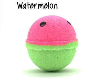 Watermelon Bath Bomb | Watermelon Bath Bomb | What-A-Melon Bath Bomb Fizzy