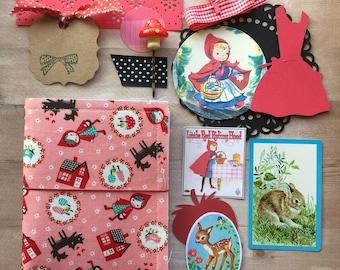 Fabric Dori Kit- Red Riding Hood