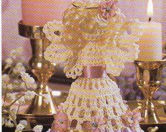 Large Angel Christmas Tree Ornament Crochet Pattern Angel With Wings Christmas Ornament Crochet Pattern PDF Instant Download