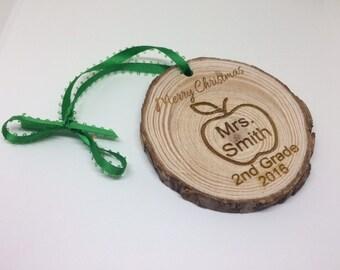 teacher Ornament,  teacher gift, teacher christmas ornament, personalized teacher gift, personalized teacher ornament, custom teacher gift