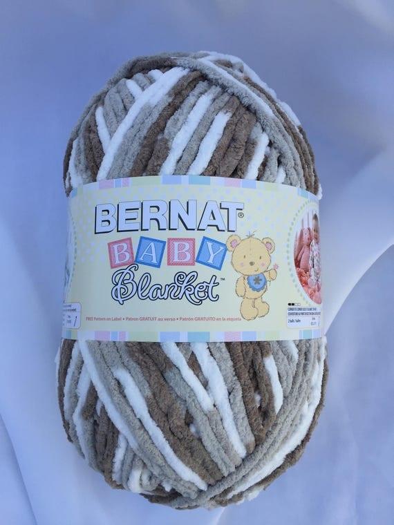Pebble Beach 04740 Bernat Baby Blanket Yarn 10 5 Oz Skein