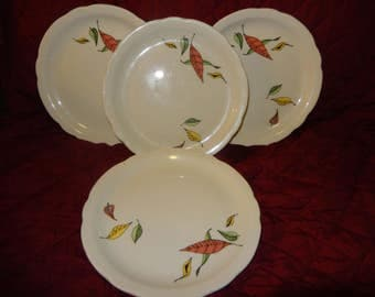 Sterling of Liverpool Ohio China - 4 Plates