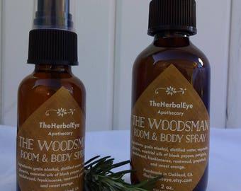 The Woodsman Room & Body Spray
