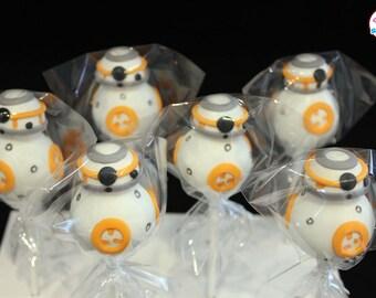 Star Wars Themed Gourmet Cake Pops