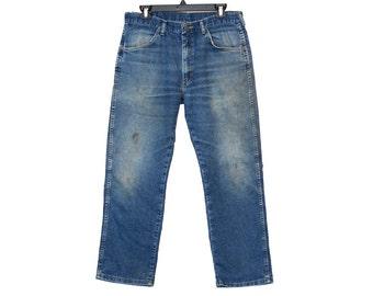 Size 34 Wrangler Jeans, Vintage Wrangler Jeans, Bootcut Wranglers, Vintage Jeans, Wranglers Size 34, Vintage Wranglers Size 34, 90s Jeans