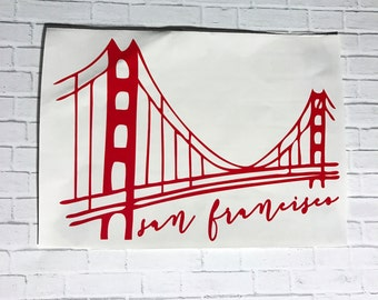 San Francisco Decal