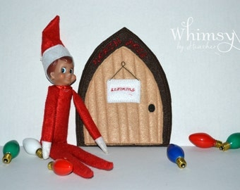 Door, Elf, Elf Door, Elf Props,  Props, Elf Props, Elf Clothes, Elf, Elf Themes, Doll props, Doll Clothes