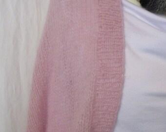 Shrug pink long Gr.M