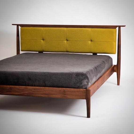 mid century modern storage bed danish modern bed