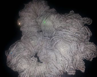 Knitted Fashion Ruffled Scarf