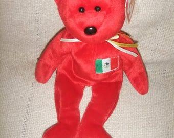 """VintageTy Beanie Bear """"Osito""""  Birthday 2/5/1999"""