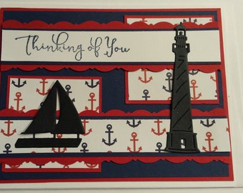 Nautical Thinking of You Card