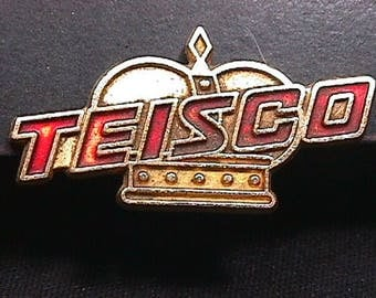 Vintage 1960's Teisco Crown Electric Guitar Badge Ready to Use