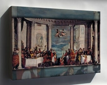 Canvas 24x36; Feast In The House Of Simon The Pharisee By Paolo Veronese