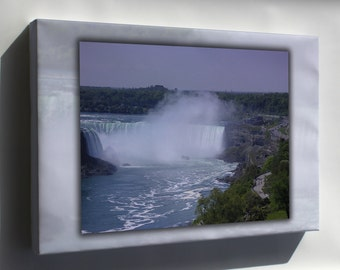 Canvas 16x24; Niagara Falls And Maid Of The Mist