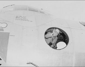 16x24 Poster; President Truman Waving From B-36A Peacemaker Bomber