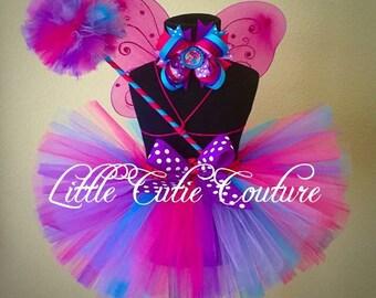 Abby Cadabby Tutu Outfit, Abby Cadabby wand and wings, Abby Cadabby Costume, Birthday outfit, Abby Cadabby photo prop