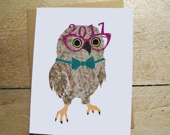 2017 Owl - Card