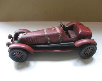 Vintage metal oldtimer car.