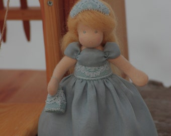 Waldorf doll // Cinderella waldorf doll // original gift for girl