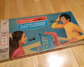Battleship - Milton Bradley - 1971 - Strategy Game