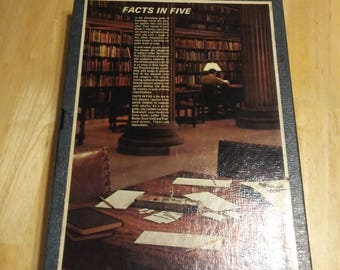 Facts In Five - 1967 - 3M Bookshelf Game - Board Game