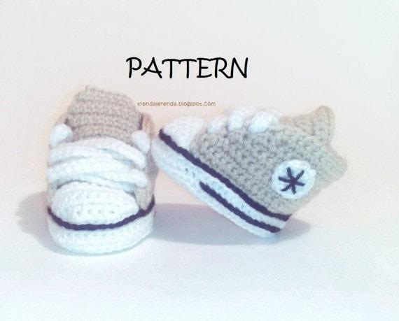 Etsy Crochet Baby Shoes