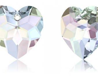 Swarovski 6215 - Heart Crystal Pendant