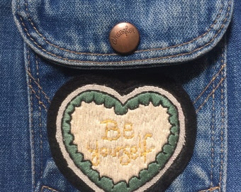 "Patch ""Be Yourself"""