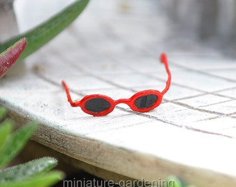 Sunglasses for Miniature Garden, Fairy Garden