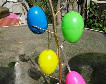 Mini Easter Egg Tree with 4 Hanging Eggs