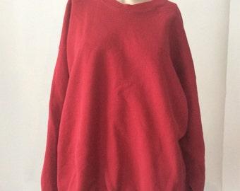 Big red shirt
