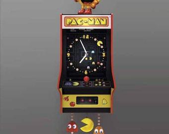 Arcade Pac-Man Wall Clock  - Celebrating 35 years of PAC-MAN! - Bradford Exchange